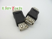 USB Adapter/Converter USB A Female to USB A Female, High Quality USB A F/F Connecter, Free shipping. In stock+fast delivery