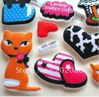 Wholesale Cat Seris puffy stickers students self adhesive puffy sticker promotion puffy stickers10sheets/lot free shipping