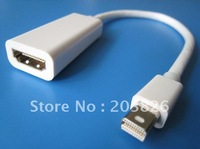 Free shipping/Mini DisplayPort to HDMI Female Adapter Cable