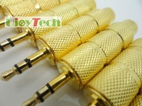 Free shipping-3.5mm Male to 6.5mm Female Stereo Audio adapter, Gold-plated High Quality Adapter AV, In stock + fast delivery