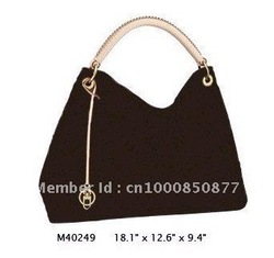 Wholesale Monogram Canvas M40249 ARTSY MM Women Lady Shoulder Hobo Tote Bags Designer Handbags(China (Mainland))
