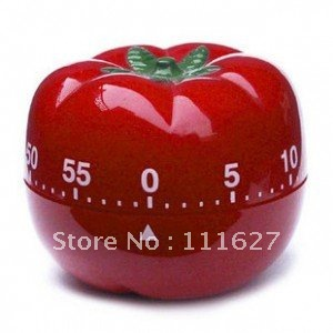 Free Shipping High Quality 60 minutes kitchen timer,tomatoes twist kitchen timer,Cooking Tools Timer Retail Ll-01-104(China (Mainland))