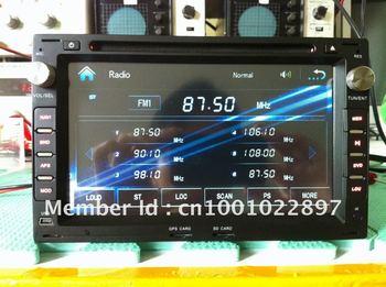 Autoradio 2din car dvd stereo GPS for Volkswagen Golf/Polo/Passat B5/Jetta/Peugeot 307