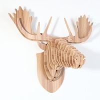 Deer Head Decoration For Wall , Display