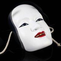 Fashion Japan Play Sun kojiro' white Resin mask/High quality mask.Free shipping+wholesale