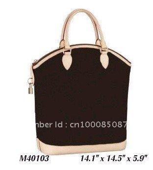 Wholesale M40103 LOCKIT VERTICAL Monogram Canvas Designer Handbags Women Lady Shoulder Hobo Tote Bags