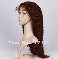 FREE SHIPPING Good quality wig, Fashion wig / in stock 22 inches curly hair 100% human hair,Indian  hair,full lace wigs