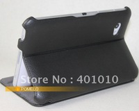 Leather Cover Case for Samsung Galaxy Tab 7.0 P6210 P6200 free shipping by air mail ED569