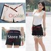 Korea New arrival fashion Hight waist Mini Fit trousers short pants Summerwear side Drape loose OL Lady Casual E0455