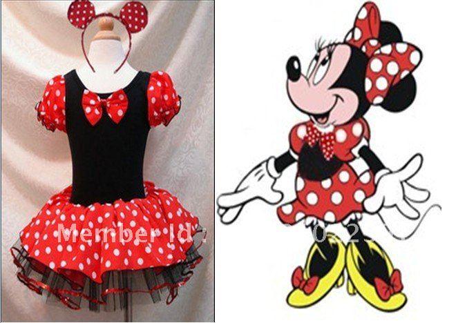 Free-shipping-Minnie-Pettiskirt-Birthday-Tutu-Skirt-baby-girls ...