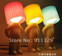 Best selling! EMS Free shipping! 10 pcs/lot Naughty boy night Light ,desk lamp.  Retail&Wholesale
