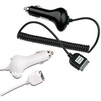 Free Shipping Car Charger For iPhone 4 4S / Apple iTouch / iPhone 3GS Premium On Sale