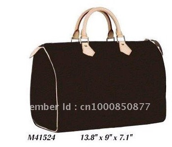 Wholesale Monogram Canvas M41524 SPEEDY 35 Women Lady Shoulder Hobo Tote Bags Designer Handbags