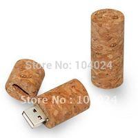 beer friends 4GB 8GB 16GB 32GB Wine Bottle Stopper Wood Cork USB flash memory drive Pen U disk packed gift