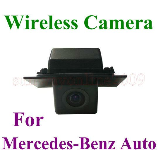 WIRELESS Reversing Camera for BENZ GLK300 Rearview Camera CMOS Waterproof for BENZ(China (Mainland))