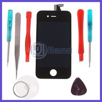 Touch Screen LCD Display With Opening Tools Color Black and White For Option For iPhone 4 4G Free Shipping