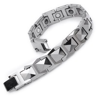 Min order $15, can mix Mens Bracelet  Mens Jewelry wholesale Fashion tungsten Bracelet B301