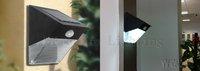 Solar Motion Sensor PIR Wall Mount Garden Light+4pcs/lots+12 LED White blubs Solar wall light 20pcs/lot Free shipping