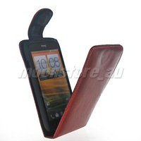 FLIP LEATHER CASE COVER POUCH  FOR HTC ONE S FREE SHIPPING