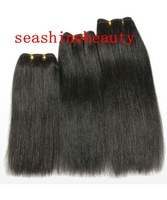 14''-28''no shedding no tangle100% virgin brazilian remy human hair weft free shipping in stock