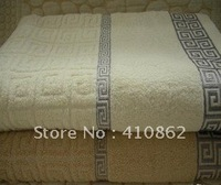 Free shipping Geometric designs bath towel thickening 100% pure cotton towel 70*140cm 340g