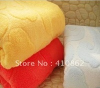 Free shipping  ultra soft bath towel cotton thickening increase towel 150 * 70cm 420g