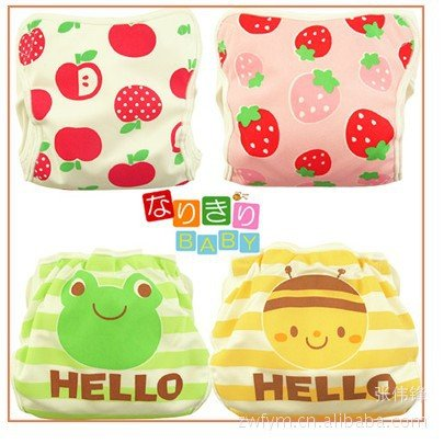 NEW Arrival quality Baby cotton training pants Toddler Potty waterproof printing Learning pants  ...