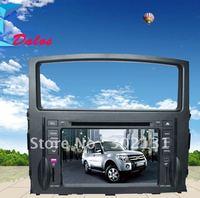 "2012 cheapest 6.95"" Mitsubishi pajero v97 car dvd with GPS  Bluetooth Win CE6.0 128M memory Ipod Free Shipping"