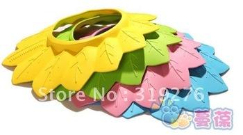 Baby Child Kid Shampoo Bath Shower Wash Hair Shield Hat Cap Green/Yellow / Pink / Blue,8pcs/lot, freeshipping, dropshipping