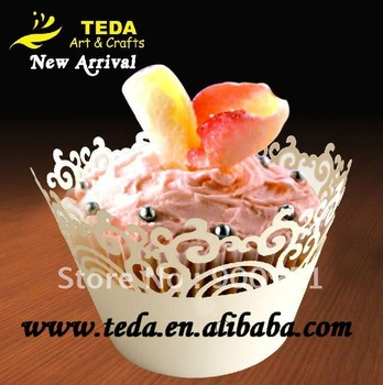 2012New Arrival : Teda Swirl cupcake wrappers,27color,5*8*5/4/3cm,12pcs/pk.MOQ:600pcs/color
