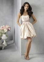 Sexy Short Strapless Wedding Prom Party Dresses beaded Evening Gowns Cocktial Dress Wedding party Dresses