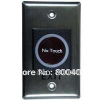 ZK IR Tech Smart-Touch Door open button for access control system,Stainless steel infrared Sensor,zksoftware K1-1