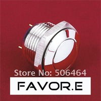 16mm Stainless steel IP65 Momentary Push Button Switch domed round PIN terminal