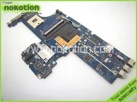 Free shippng LAPTOP MOTHERBOARD for HP EliteBook 8540P 8540W KAQ00 LA-4951P 595764-001 INTEL DDR3 with graphics slot