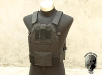 TMC 6094A SLICK Medium Plate Carrier ( Black )TMC1553,free shipping cost