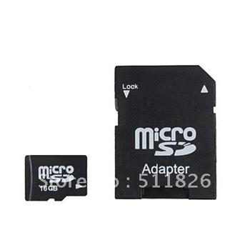 Free shipping 2GB 4GB 8GB 16GB  MicroSD Micro SD HC Transflash TF CARD