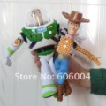 "Free Shipping Toy Story Woody & Buzz Lightyear Doll Soft Toy New 8"" Wholesale"