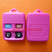 High quality and hot selling Ford 4 button Remote Key Blank (Light Red Color) /key shell/key blank