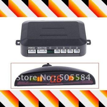 Car LED Display 4 Parking Sensor Reverse backup Radar Auto Parking Sensor Reversing Sensor Rear Radar Alarm detector