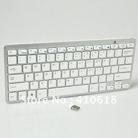 free shipping Wireless  white, black mini keyboard / chocolate version of the / silent mute / Scissor mini notebook keyboard