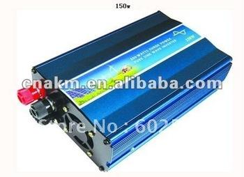 Input DC12/24/48/110V Output AC 100V/110V/120V or 220V/230V/240V 150W Pure Sine Wave Power Inverter