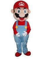Super Mario cartoon costumes, cartoon dolls, walking cartoon dolls, cartoon costumes costumes
