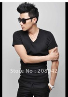 Best selling 2012men's t shirts short sleeve hit singles the end of shirt tide Male t-shirts