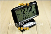 Digital LCD Display Car clock with Thermometer