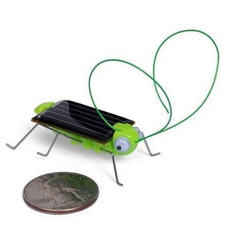 5pcs/lot solar funny toy for kids Solar Toys, solar powered Grasshopper, Crazy Cricket(China (Mainland))