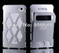 1pc/lot Showkoo aluminum Flip case for iphone 4 4s, Mixed Colors & Free shipping
