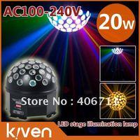 Освещения для сцены 30w led bar light, Since go mode+DMX512 signal control+sonic mode+master-slave mode, 6 lights, rgb, led linear light