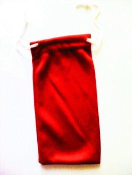 Wholesale Drop Shipping 100Pcs  Sun Glasses Cloth Bags Pouch Eyeglasses Cases  Sun Glasses  bags Red phone camera bags