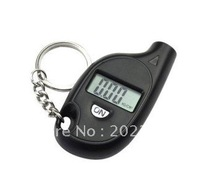 100pcs/lots free shipping wholesales MINI LCD Digital Car Tire Tyre Pressure Gauge