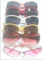 Free shipping 10pcs/lot Mix Style UV Protect Sun Lady Women Fashion sunglasses GL12